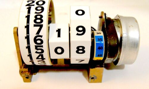 Pennwood / Tymeter / Numechron Clock Number Restoration Kit