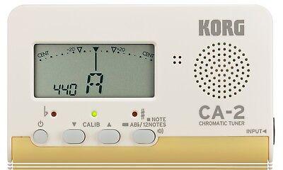KORG CA-2 chromatisches Stimmgerät Tuner fast alle Instr. DHL Paket versichert