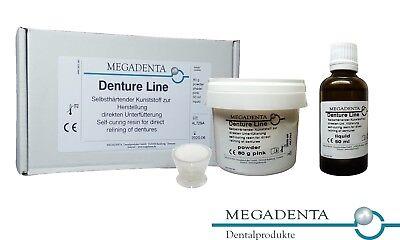 Dental Denture Direct Reline Self Cure Hard Resin Acrylic Germany Powder Liquid
