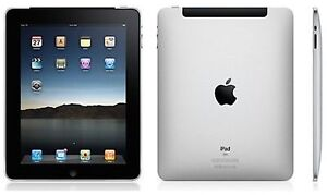 Apple iPad 1st Generation 32GB, Wi-Fi + 3G (Unlocked), 9.7in - Black  - Good Con