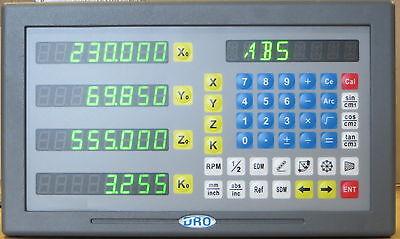 Digitalanzeige für 4 Achsen  Neues  Modell    Einführungs Preis