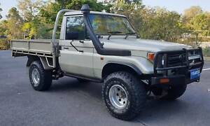 1997 TOYOTA LANDCRUISER HZJ75 TRAY UTE 4.2L 1HZ DIESEL 4X4 MANUAL