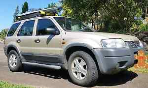 Ford escape 4x4 FWD wagon 6month rego Brisbane City Brisbane North West Preview