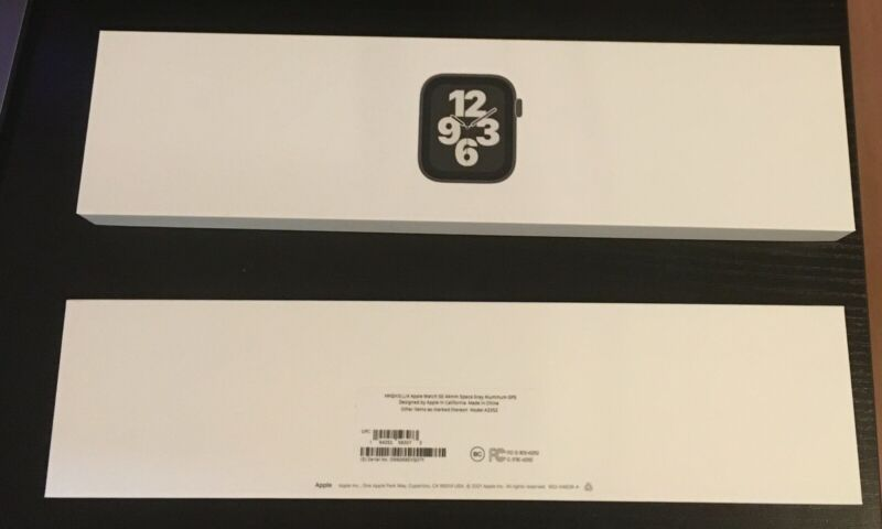 Empty Box Only For Apple Watch SE 44mm Space Gray Aluminum Case