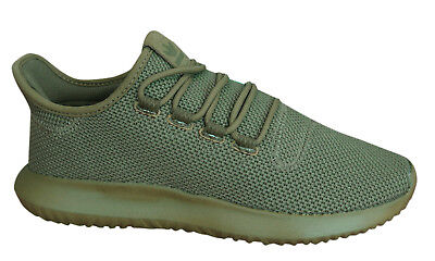 Adidas Originals Tubular Shadow Mens Trainers Lace Up Shoes Khaki AQ0387 B28D
