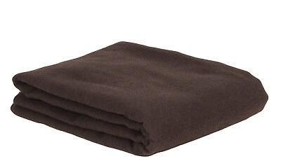 Anti-tarnish silver cloth/fabric, Dark Brown, 1/2 yard