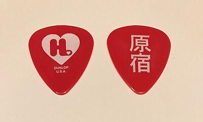 Gwen Stefani - Harajuku Lovers 2005 Tour Guitar Pick Red & White No Doubt