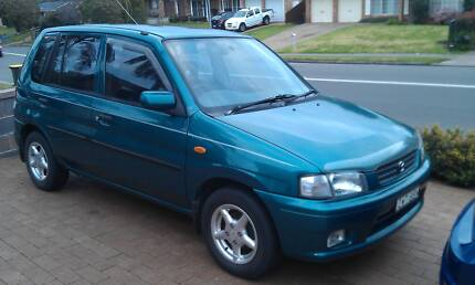 1998 Mazda 121 Hatchback Quakers Hill Blacktown Area Preview