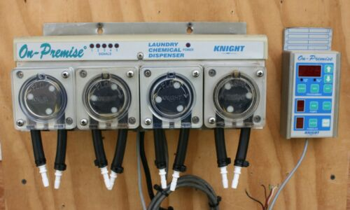 KNIGHT MANUFACTURING ON-PREMISE LAUNDRY CHEMICAL DISPENSER MODEL OP-504S