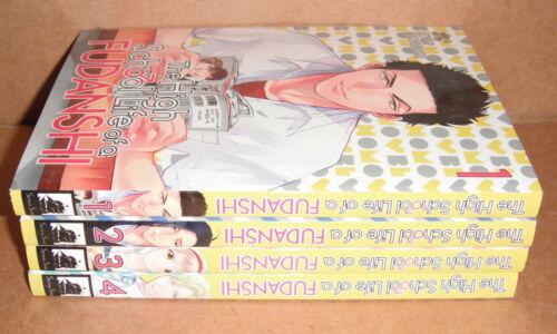 The High School Life of a Fudanshi Vol. 1,2,3,4 Manga Graphic Novels English