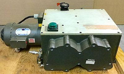 Varian Dvp-500 Oil-free Vacuum Pump 16cfm 1hp 208-230460v 3ph Rebuilt Condition