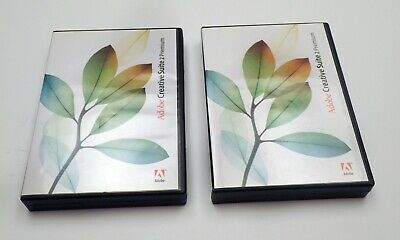 Adobe Creative Suite 2 Premium for MAC & WINDOWS - 2 separate programs boxes