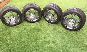 16 inch Wheels and tyres 4 nuts 205/45/16 new Toyota, Ford, Honda etc. Taylors Lakes Brimbank Area Preview