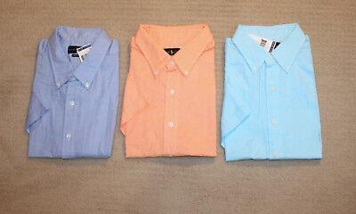 Big And Tall Short Sleeve Shorts - New Polo Ralph Lauren Big and Tall Short Sleeve Chambray Oxford Pony Logo Shirt