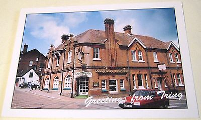 England Greetings from Tring Cole Flatt & Partners - used