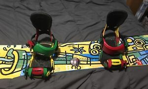Snowboard et fixations 138cm HEAD