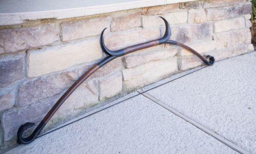 Skyrim Elder Scrolls Online Inspired Horned Recurve Bow Made of PVC   - Handmade