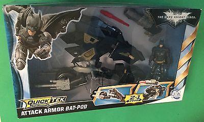 (Batman Attack Armor Bat-Pod & 4