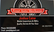Your Auto Mechanic Mobile rwc and inspections Brisbane City Brisbane North West Preview