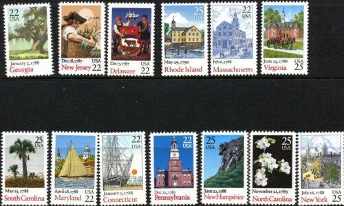 US,  #2336-48 Bicentenary Statehood 13 stamps, MNH
