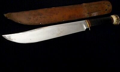Marbles Trailmaker Bowie Hunting Knife -Stag Pommel -Old/Antique Collection/wd