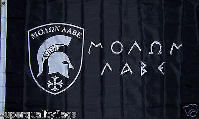 NEW 3x5 ft MOLON LABE SPARTAN 300 COME AND TAKE IT GREEK FLAG