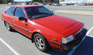 1984 MITSUBISHI CORDIA GSR TURBO MANUAL Maddington Gosnells Area Preview