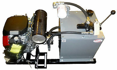 23 HP HONDA POWER HYDRAULIC GAS  HYDRAULIC POWER UNIT / PACK  NEW