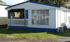 Onsite caravan with hard annex located at Victor Harbor Craigmore Playford Area Preview