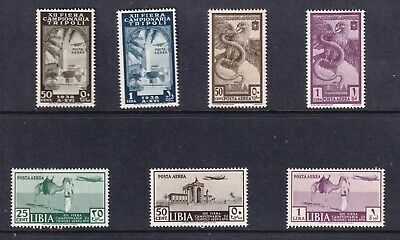 LIBYA STAMP AIRMAIL MH/OG STAMPS COLLECTION LOT
