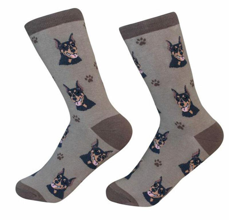 Doberman Pinscher Socks Unisex