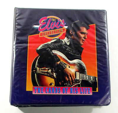 The Elvis Collection Binder Set of 660 Cards with Tabs - The Cards of His