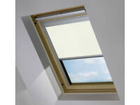 VELUX window blinds - two - very good condition - complete with fixings and screws