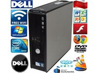 DELL OTHER PC DUAL CORE/CORE2DUO/2-4GB RAM DVD-FREE WIFI READY TO USE.price from 29£