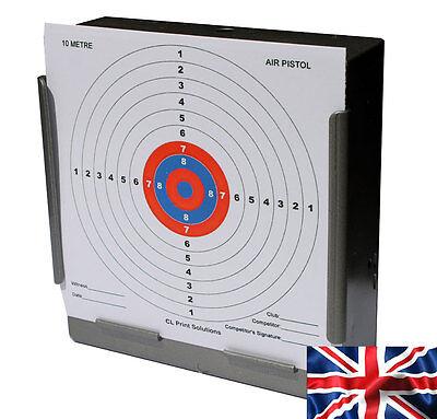 Air carabine ou pistolet 14 cm CLP Paper 10 M 33 FT environ 10.06 m cible
