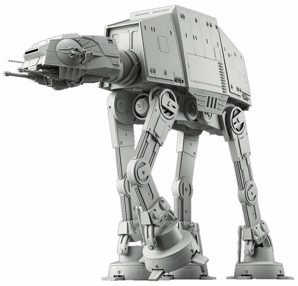 BANDAI 1/144 Star Wars AT-AT Plastic Model Kit NEW from Japan F/S