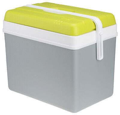 Kühlbox Promotion 35L EDA Kühlcontainer Camping auch für 1,5 L Flaschen Grau