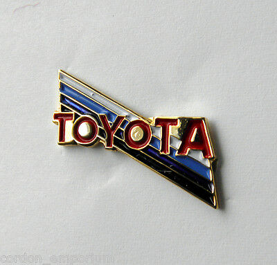 TOYOTA AUTOMOBILE CAR LOGO LAPEL PIN BADGE 3/4 INCH
