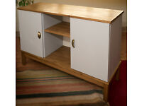 Medium - large pine sideboard (free delivery within midlothian)