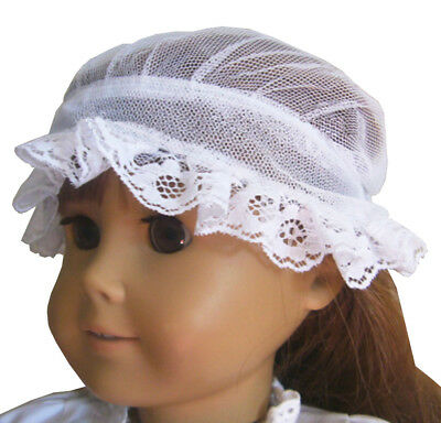 Lace Mop Cap for Colonial Era 18