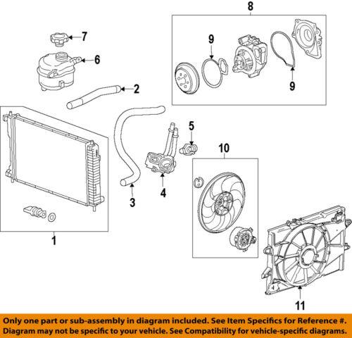 [CSDW_4250]   GM OEM-Engine Water Pump 12630084   eBay   Gm 3 8 Engine Diagram Side View      eBay