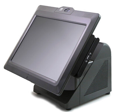 7616-1200 Ncr 72xrt Pos Terminal With Msr Biometric And Rear Display