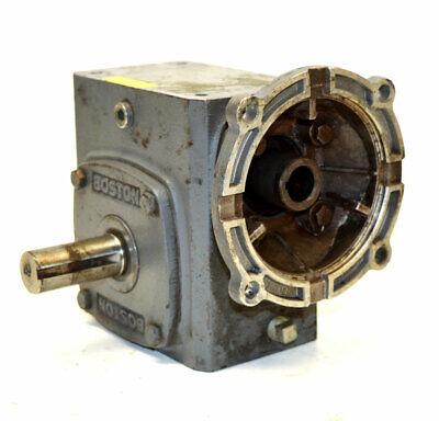 Boston Gear F72410b7g 101 Gearbox Speed Reducer Worm-gear 700-series 968-lbin