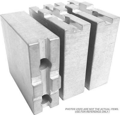 Tg-8200af Aluminum Soft Jaws For Tongue Groove 8 Chuck 2 Ht 3 Pc Set