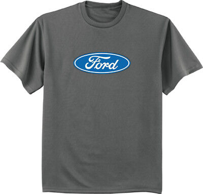 Ford logo T-shirt mens tee ford racing mustang trucks ford decal mens gift idea - Ford Racing Trucks