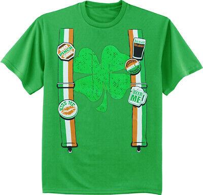 St Patricks Day Shirts Funny Irish Beer Tuxedo Suspenders Shamrock St Pattys - St Patricks Day Suspenders