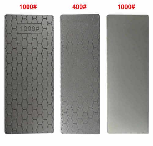 Affûtage 400//1000 Double côté DMD Lame diamant Pierre à aiguiser Girt