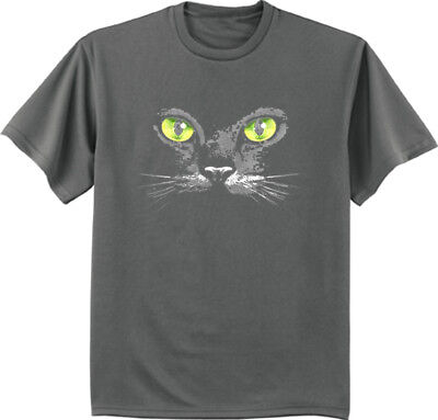 Big and Tall t-shirt cats eyes halloween shirts for men bigmen tee](Cat Eye For Halloween)