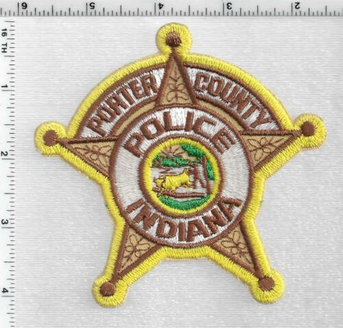 Porter County Police (Indiana) 1st Issue Shoulder Patch