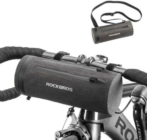 ROCKBROS Bike Handlebar Front Frame Storage Bag Waterproof Large Cycling Bags 2L